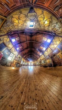 Blair Castle Ballroom, Blair Atholl - April 2018