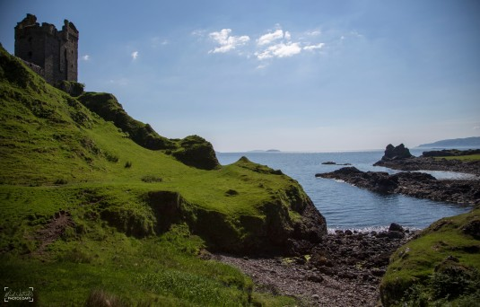 Gylen Castle, Isle of Kerrera - May 2018