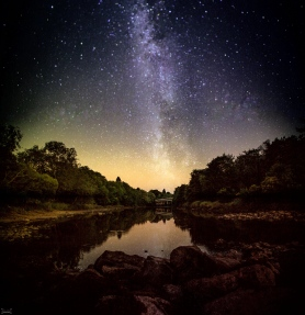 Perth and the Milky Way Composite